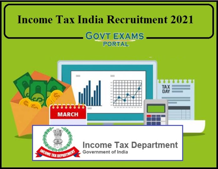 Income Tax India Recruitment 2021 Out – Download Notification PDF!!!!