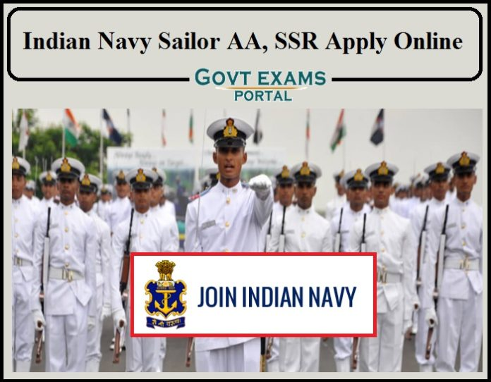 Indian Navy Sailor AA, SSR Application Process Started- Apply For 2500+ Vacancy Direct Link Available!!!