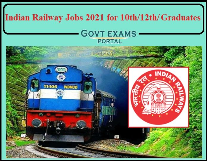 Indian Railway Jobs 2021