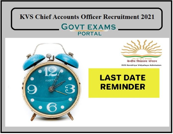KVS Recruitment 2021