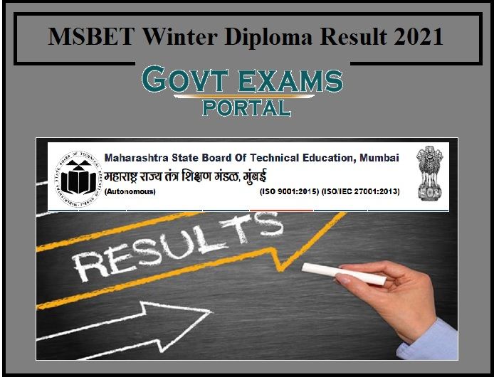 MSBET Winter Diploma Result 2021