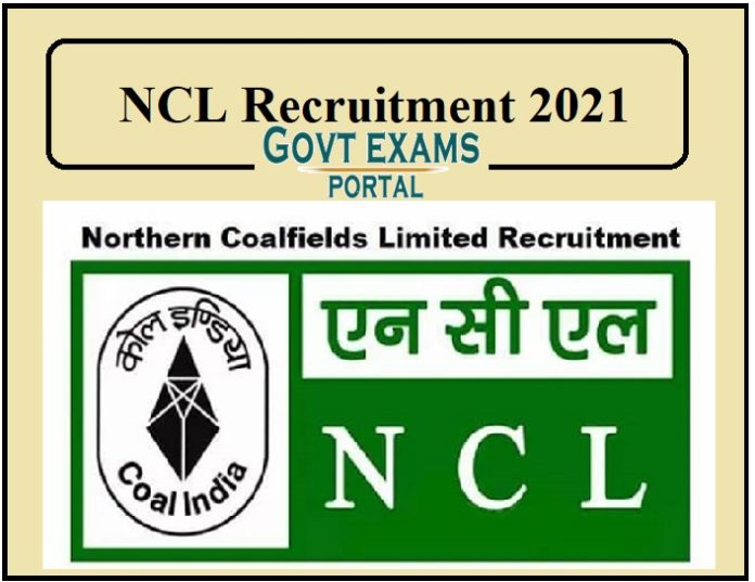 NCL Recruitment 2021 Released