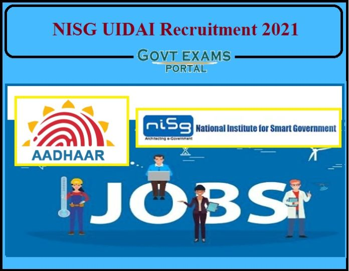NISG UIDAI Assistant Manager Recruitment 2021