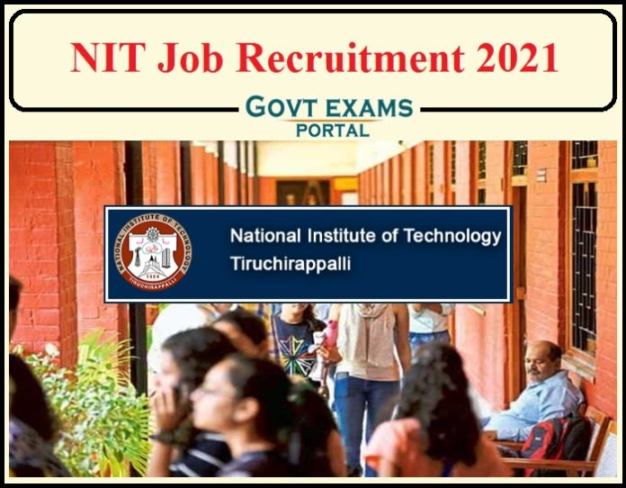 NIT Job Recruitment 2021 Notification Released- Salary Upto Rs. 31,000 per Month Apply Now!!