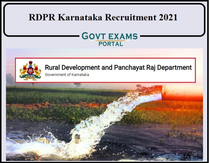 RDPR Karnataka Recruitment Notification 2021 Released- Check Details for 150+ Vacancies!!!