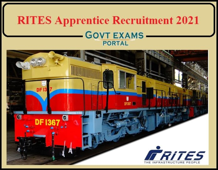 RITES Recruitment 2021 Notification PGF Released- Apply Now!!!