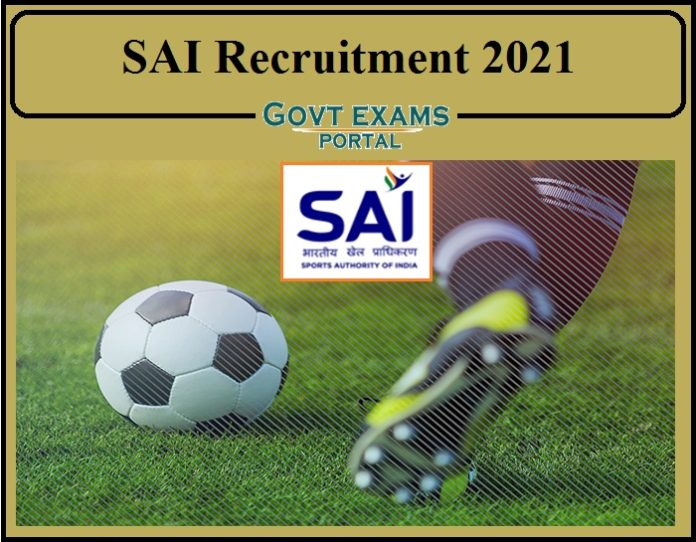 SAI Recruitment 2021 Notification Released- Apply for 320 Vacancies!!!