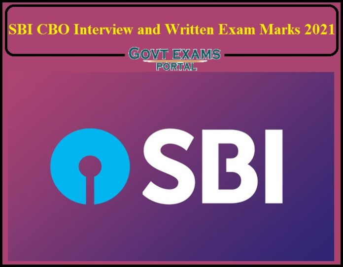 SBI CBO Interview and Written Exam Marks Released- Direct Link to Download!!!