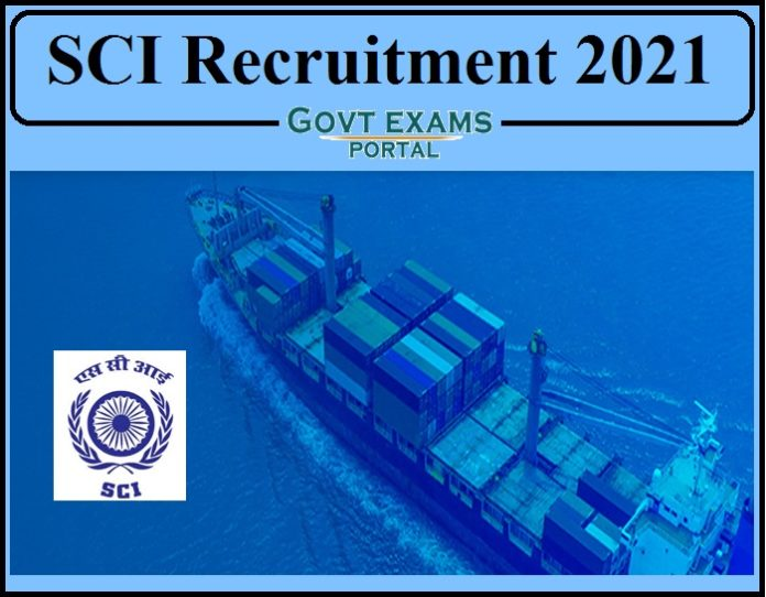 SCI Recruitment 2021 Notification Released- Apply Online Now!!!