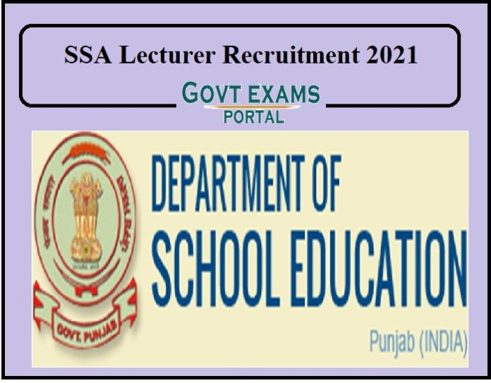 SSA Lecturer Recruitment 2021 Released