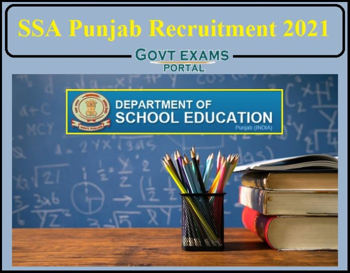 SSA Punjab Recruitment 2021 Notification Released- Apply for 2350+ Vacancies!!!