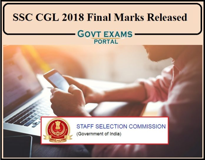 SSC CGL 2018 Final Marks Released- Direct Link to Download Individual Marks!!!!
