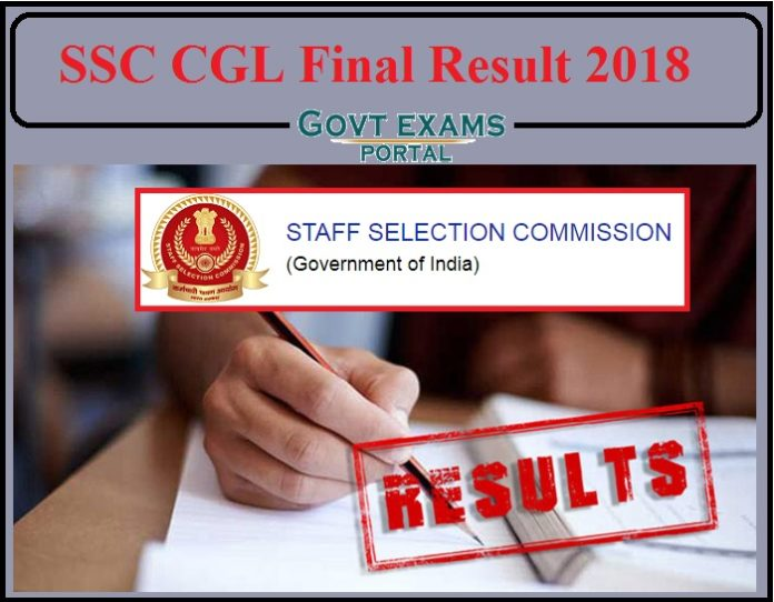 SSC CGL 2018 Final Result Released- Direct Link to Download Here!!!