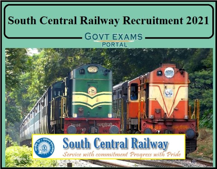 South Central Railway Recruitment 2021 Notification PDF Released- 10th