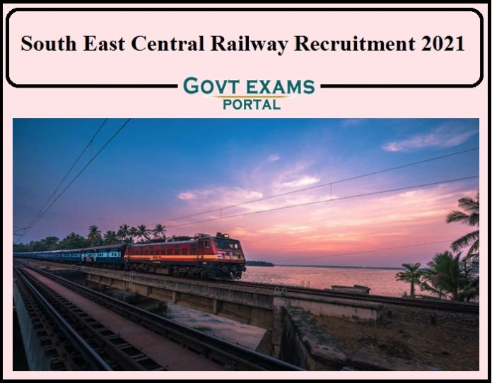 South East Central Railway Dental surgeon Recruitment 2021 Notification Released- Apply Now!!!