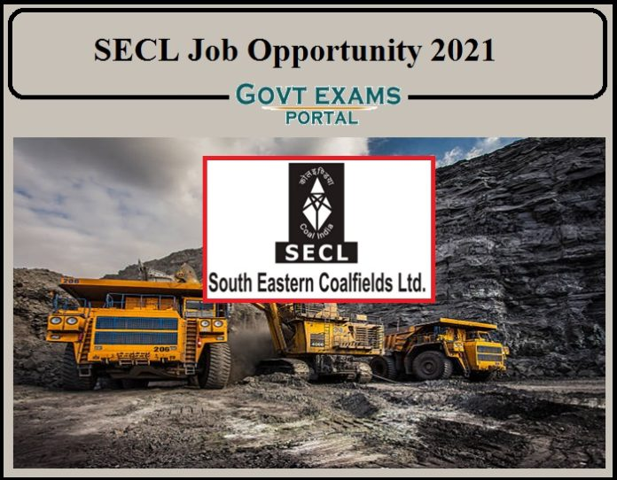South Eastern Coalfields Recruitment 2021 Notification Released- Download Application PDF Here!!!