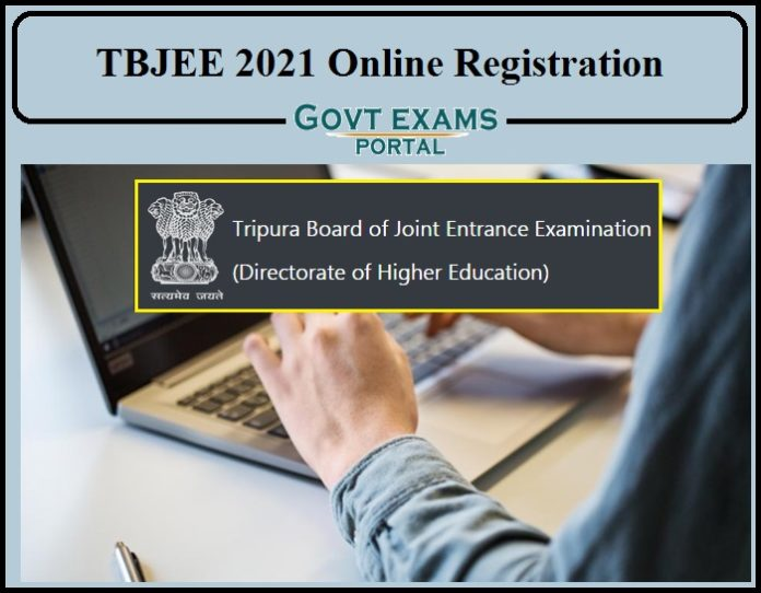 TBJEE 2021 Online Registration Begins- Check How to apply details Here Direct Link Available!!!