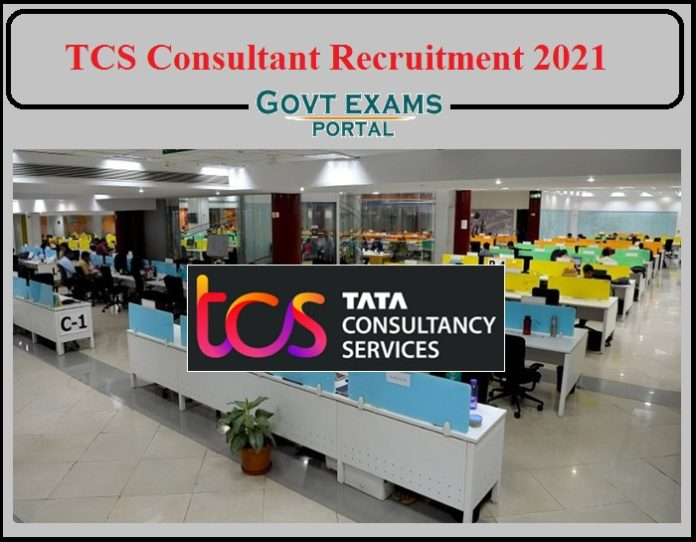 TCS Consultant Recruitment 2021 Notification Released- Apply Online!!!