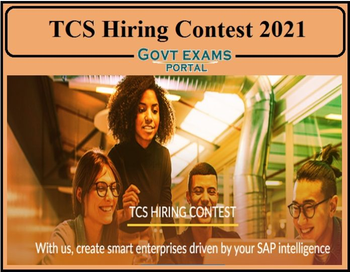 TCS Hiring Contest 2021 Started- Apply Online For This Challenge Now!!!