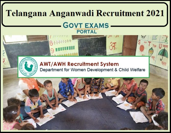 Telangana Anganwadi Recruitment 2021 Notification Released- Apply for 160+ Vacancies!!!