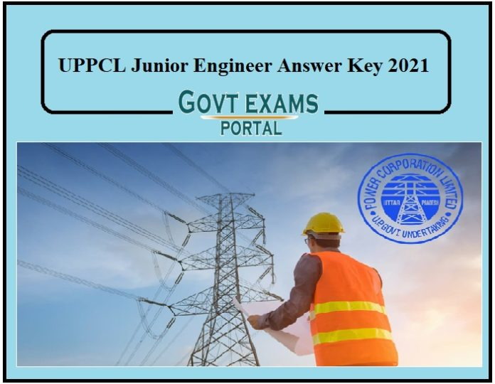 UPPCL Junior Engineer Answer Key 2021 – Objection Starts on Tomorrow!!!!