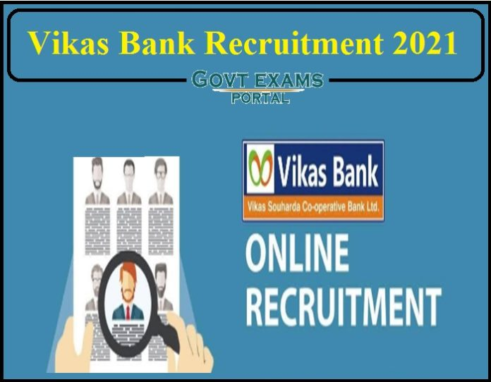 Vikas Bank Recruitment 2021 Notification Released- Apply Online Now!!