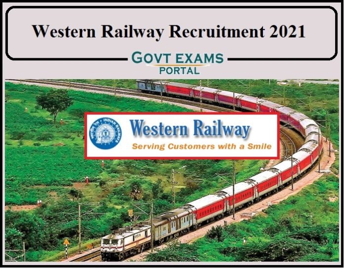 Western Railway Recruitment 2021 Notification Released- Direct Link to Apply Online for 130+ Vacancies!!!