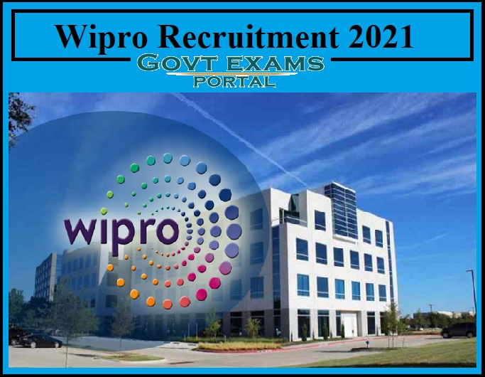 Wipro Recruitment 2021