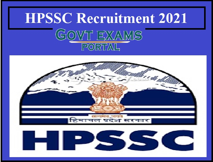 HPSSC Recruitment 2021