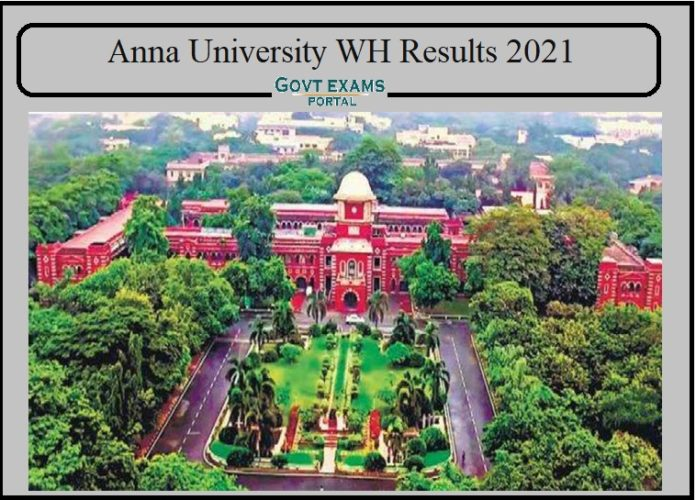 Anna University WH Results 2021