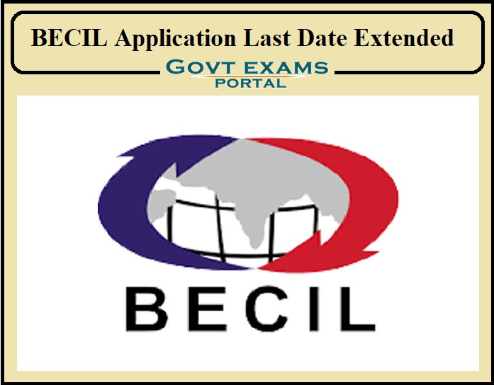 BECIL Application Last Date Extended