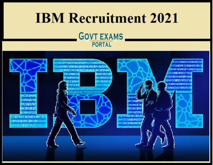 IBM Recruitment 2021 Out