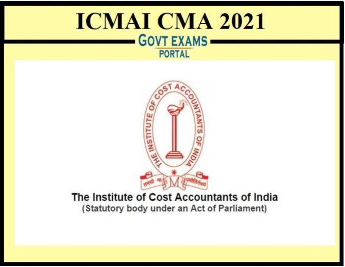 ICMAI CMA 2021 Date Extended