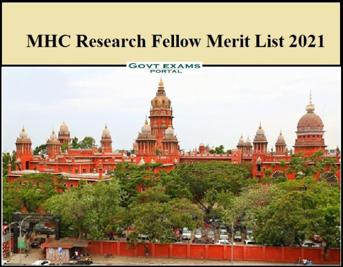 MHC Research Fellow Merit List 2021 Out - Download Viva-Voce Date Here!!!! (1)