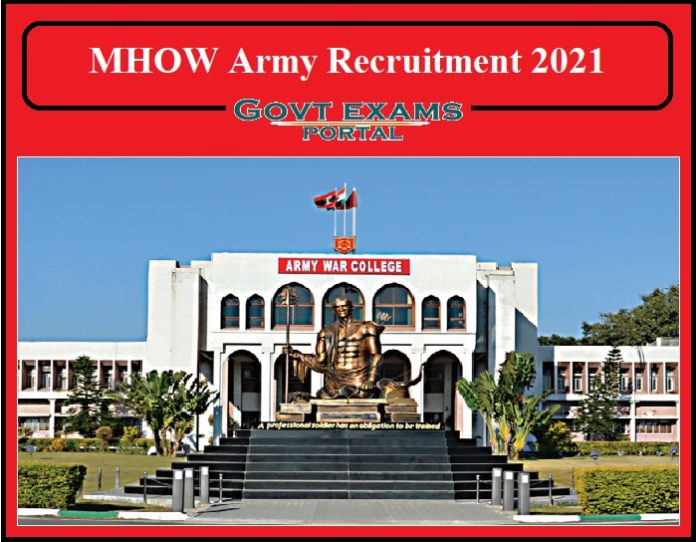 MHOW Army Recruitment 2021