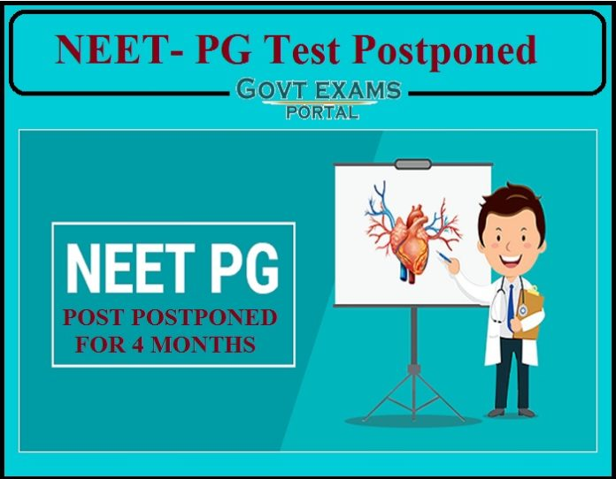 NEET- PG Test Postponed for Four Months- Check Details!!!!