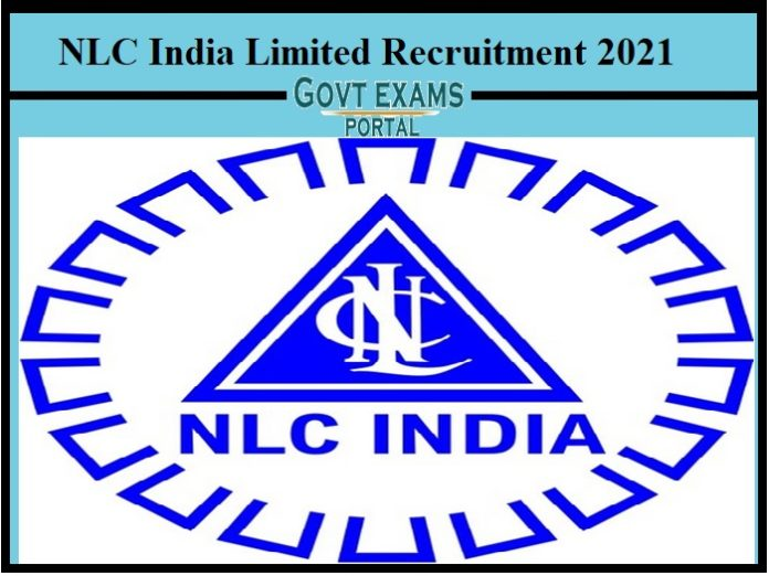 NLC India Limited Recruitment 2021