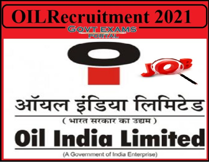 OIL Production Engineer Recruitment 2021