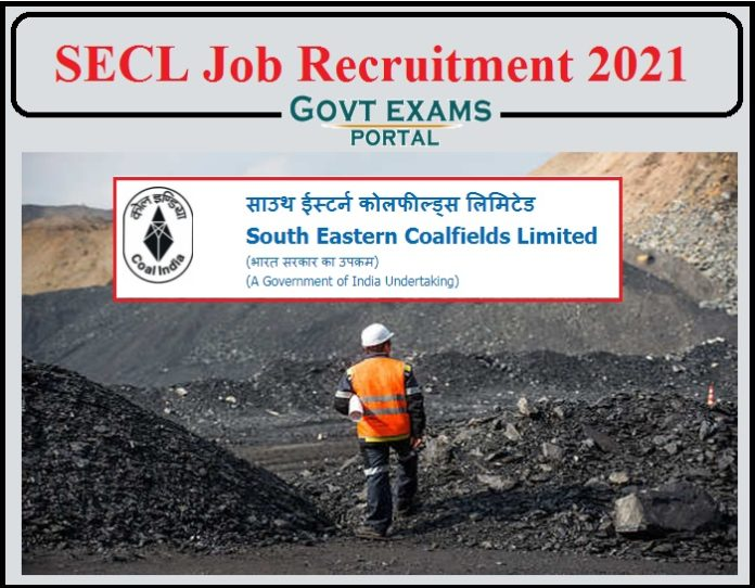 SECL Job Recruitment 2021 Notification Released- Apply for 50 Vacancies!!!