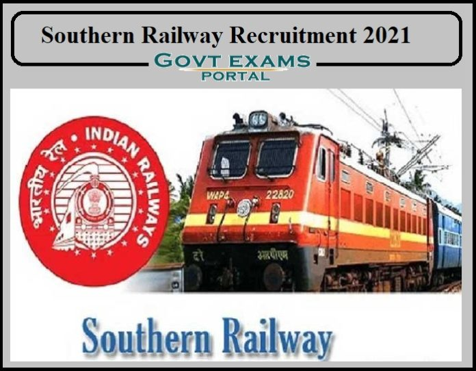Southern Railway Medical Practitioner Recruitment 2021
