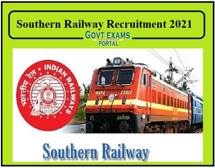Southern Railway Recruitment 2021 Released