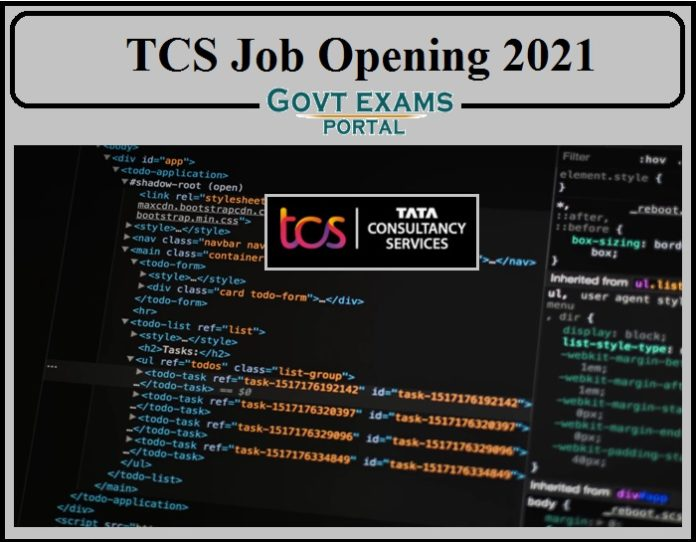 TCS Lead Job Opening 2021 Out- Apply Online!!!