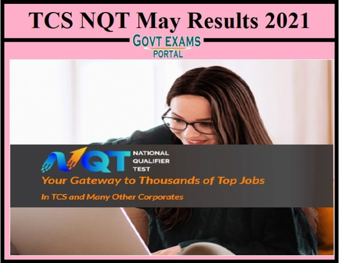 TCS NQT May Results 2021