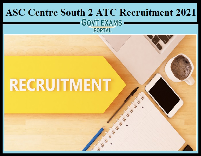 ASC Centre (South) Recruitment 2021 – Apply for 100 Civil Motor Driver, Cleaner Posts