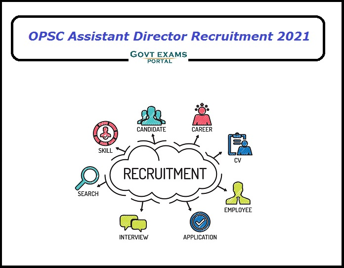 OPSC Assistant Director Recruitment 2021