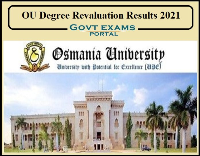 OU Degree Revaluation Results 2021
