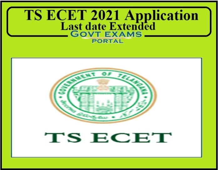 TS ECET 2021 Application Last date Extended