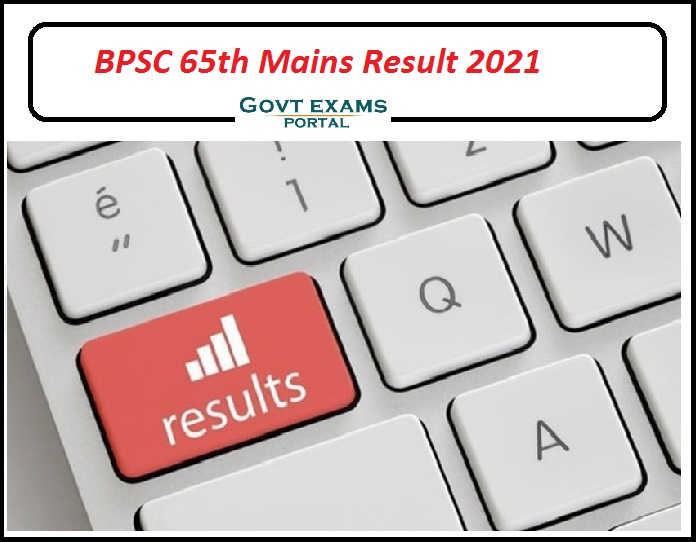 BPSC 65th Mains Result 2021